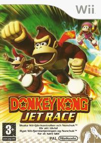 Donkey Kong Jet Race - European Box with Swedish and Danish text.