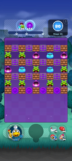 Stage 4A from Dr. Mario World