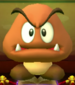 Mega Goomba as viewed in the Character Museum from Mario Party: Star Rush