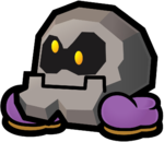 Bald Cleft from Super Paper Mario.