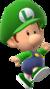 Baby Luigi trophy from Super Smash Bros. for Wii U