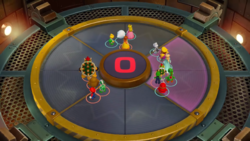 It's the Pits minigame from Super Mario Party