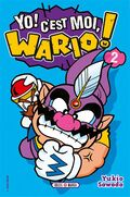 The cover for the French translation of the first volume of Ore Dayo! Wario Dayo!!.