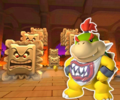 GBA Bowser's Castle 1R from Mario Kart Tour