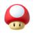 Mushroom from Mario Kart Tour.