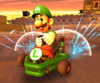 The icon of the Toad Cup challenge from the 2020 Halloween Tour and the Bowser vs. DK Tour in Mario Kart Tour