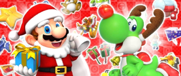 The Winter Pipe 2 from the Winter Tour (2020) in Mario Kart Tour