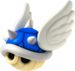 Artwork of a Spiny Shell, from Mario Kart Wii.