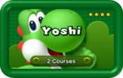 Yoshi Pack icon for Boost Rush Mode in New Super Mario Bros. U.