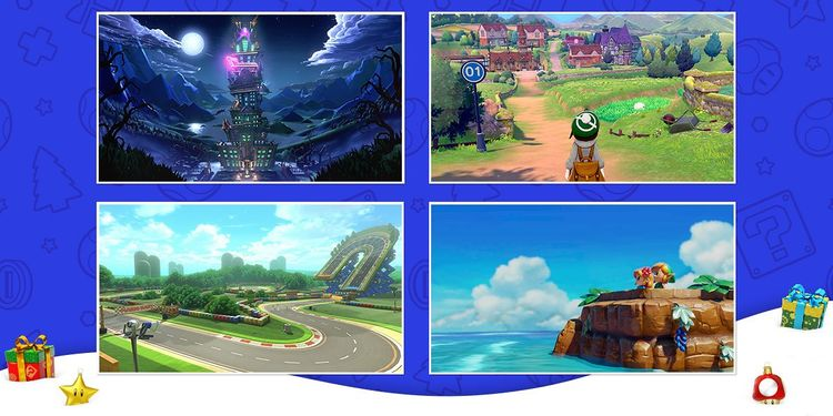 Picture shown with the first question of the Nintendo Winter Break Games to Play quiz
