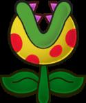 Sprite of a Putrid Piranha from Super Paper Mario.