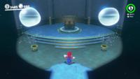 Sphynx's Underwater Vault in Super Mario Odyssey