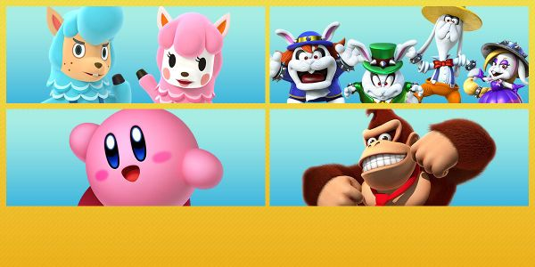 Banner for a Play Nintendo opinion poll on which Nintendo character(s) would be helpful with spring cleaning. Original filename: <tt>2x1-Spring_2018.0290fa98.jpg</tt>