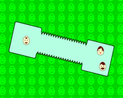 Meet the Eggheads in WarioWare: Smooth Moves.