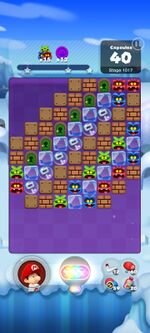 Stage 1017 from Dr. Mario World