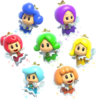 Fairy Group Artwork - Super Mario 3D World.png