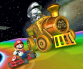 The icon of the Dry Bowser Cup challenge from the Holiday Tour and the Bowser Jr. Cup challenge from the 2021 Yoshi Tour in Mario Kart Tour