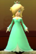 Rosalina as viewed in the Character Museum from Mario Party: Star Rush