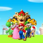 The icon for Mushroom Kingdom from Nintendo Kids Club