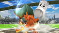 Challenge 45 from the fifth row of Super Smash Bros. for Wii U