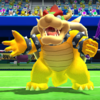 Bowser's taunt from Mario Sports Superstars
