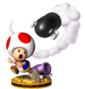 Artwork of Toad from Mario Party 5.