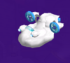 The Lakitu Cloud Body from Mario Party 5s Super Duel Mode.