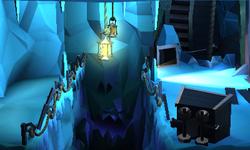 The Coward's Chasm segment from Luigi's Mansion: Dark Moon.
