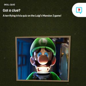 Icon for Luigi's Mansion 3 Trivia Quiz