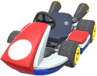 Red Standard 8 from Mario Kart Tour