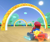 The icon of the Hammer Bro Cup's challenge from the Hammer Bro Tour and the Mario Cup's challenge from the Wedding Tour in Mario Kart Tour.