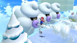 Screenshot of Ty-foos in Super Mario 3D World.