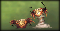 The concept art featuring two Tiki Boings.