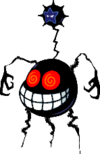 Dark Fawful Spider as the Dark Star Core in the final battle of Mario & Luigi: Bowser's Inside Story.