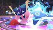 Kirby with Greninja's ability