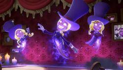 Nikki, Lindsey, & Ginny in Luigi's Mansion 3