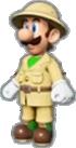 Luigi's Explorer Outfit icon in Mario Kart Live: Home Circuit