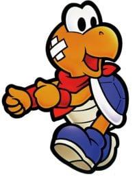 Paper Mario promotional artwork: Kooper