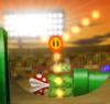 A Podoboo Cog from Mario Kart Wii