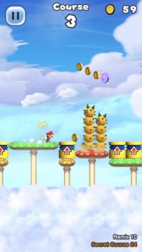 Secret Course 24 from Super Mario Run