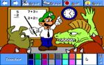 Luigi as a teacher.