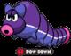Durmite X under the POW-Down status ailment in Mario & Luigi: Bowser's Inside Story.