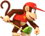 Diddy Kong artwork from Mario Golf: World Tour.