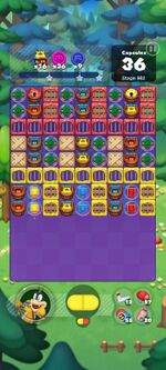 Stage 982 from Dr. Mario World