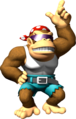 Artwork of Funky Kong for DK: Jungle Climber