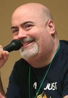 Photo of Kyle Hebert at Saboten Con in 2016.