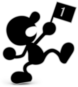 Mr. Game & Watch from Super Smash Bros. Ultimate