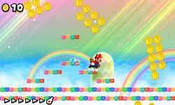 World Flower-Rainbow in New Super Mario Bros. 2