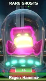 Regen Hammer, a rare ghost in Luigi's Mansion 3.