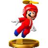 Propeller Mario trophy from Super Smash Bros. for Wii U